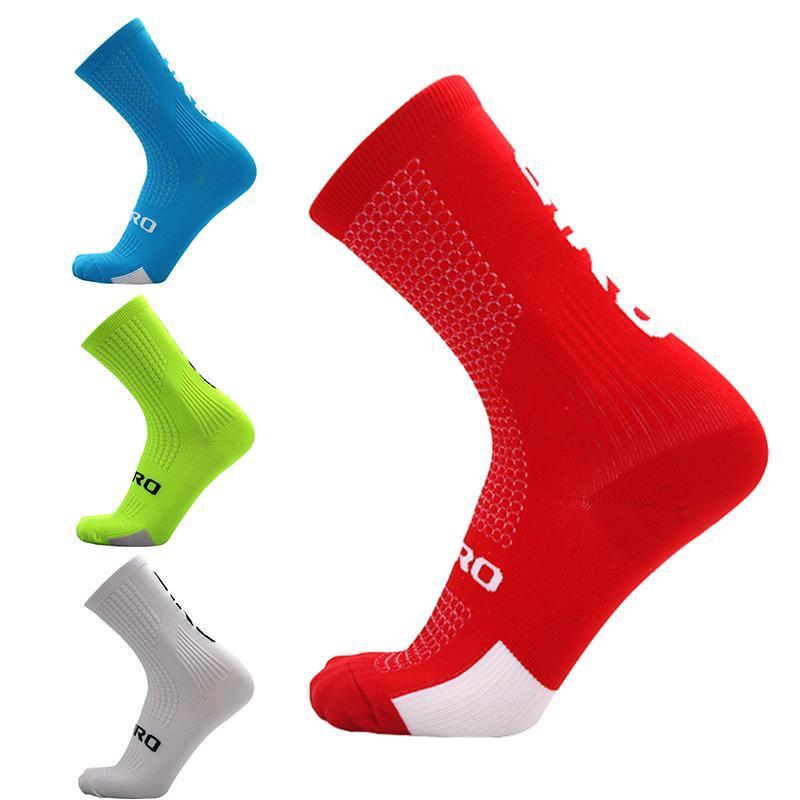 Corriendo De Calretines de Comprsión 2021 Deporte Y Ciclismo Soc Maratón Calcetines Hombres Caliente Para Esterno Mujeres MFQBX