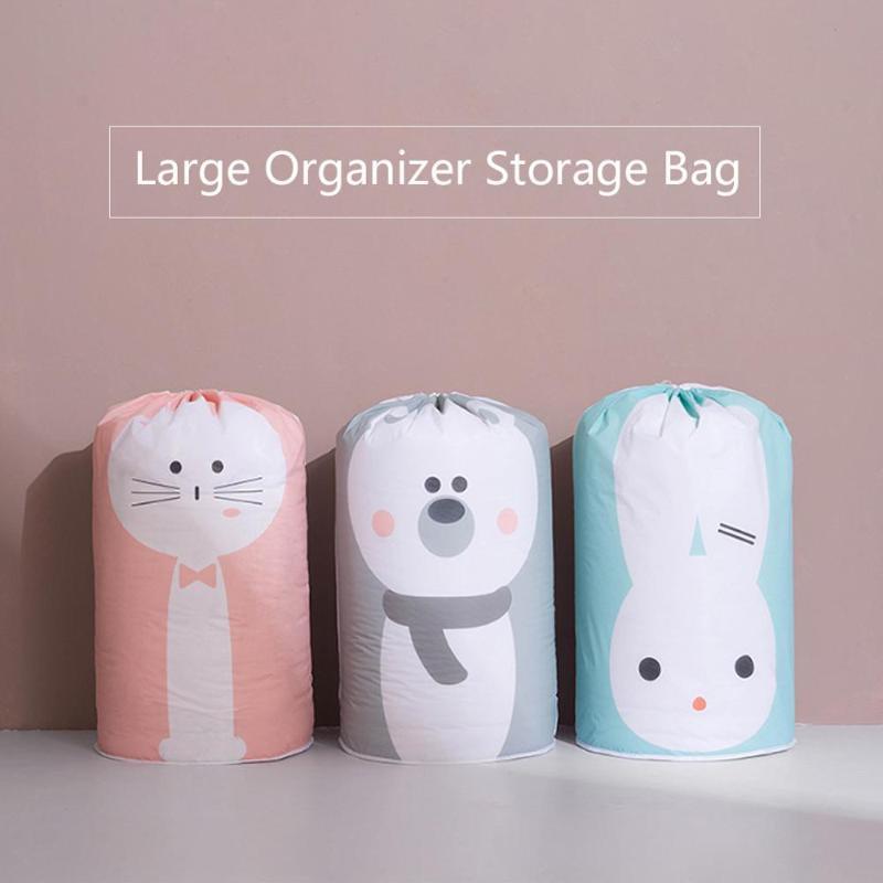 Organizador de equipaje para el hogar Bolsa de cama Ropa de ropa Embalaje de juguete Embalaje Closet Manta de almacenamiento Bolsa de ropa para acolchado de almohada grande xxtux