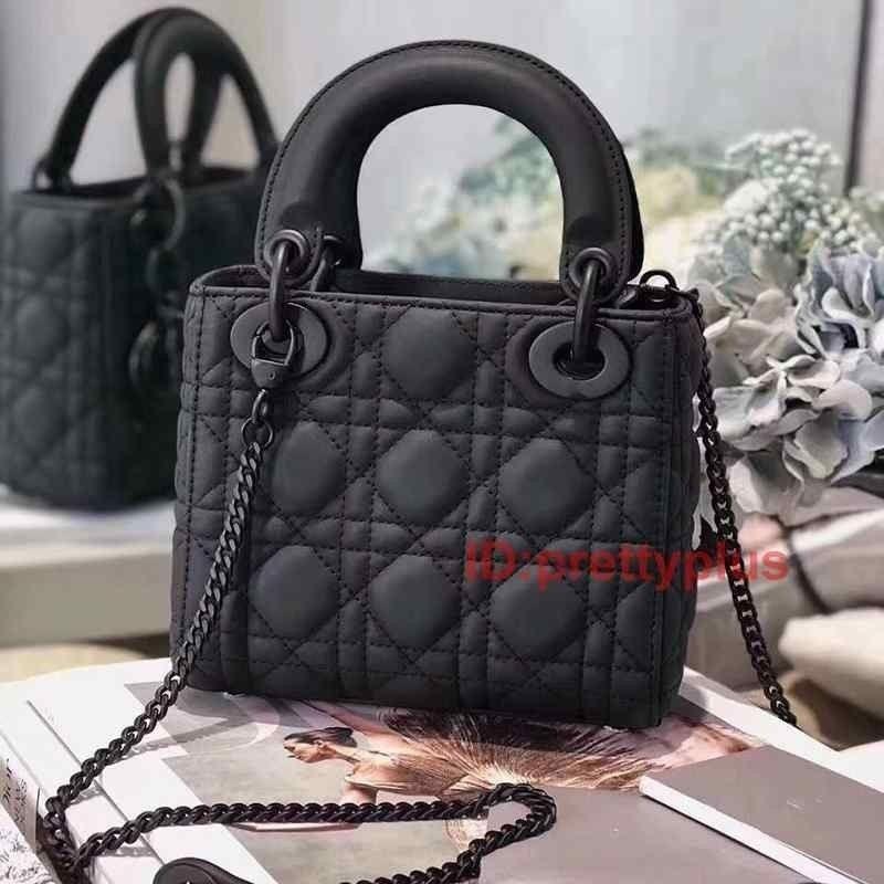 Bolsos de las mujeres genuinas bolsas de lujo Crossbody Black Ultra Cuero Hombro de cuero Hombro Monederos Moda Matte Bolsos Popular Bag IAPJS