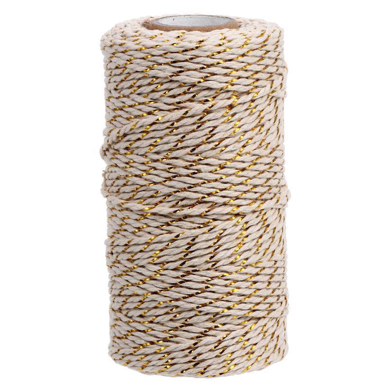 1 rulo sarma pamuk halat dokuma pamuk dize renkli fırıncılar sicim kablosu