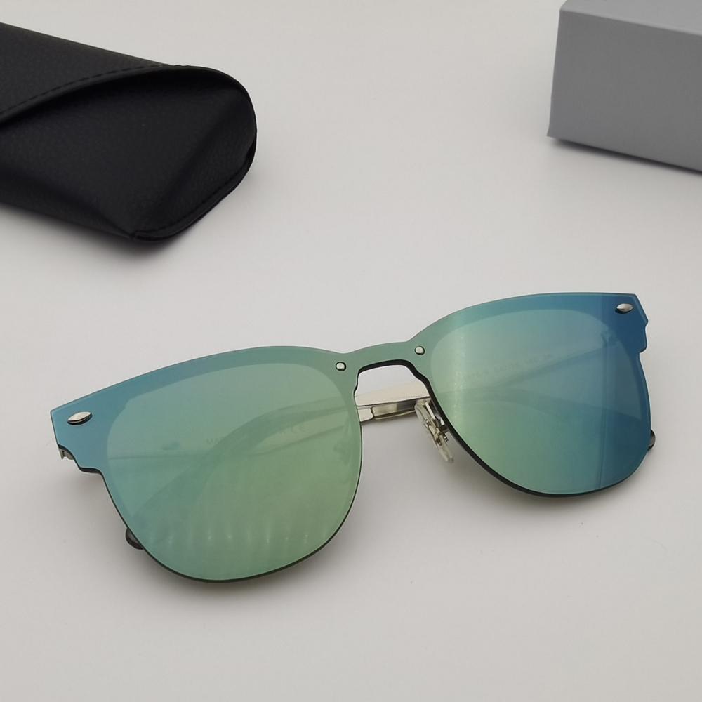 Солнцезащитные очки Классический Плавающий объектив Металлический Чехол Бренд Лензы Пляж и Женщины УФ Очки Защита дизайна Солей Frame Мода Accessorie M SLRU