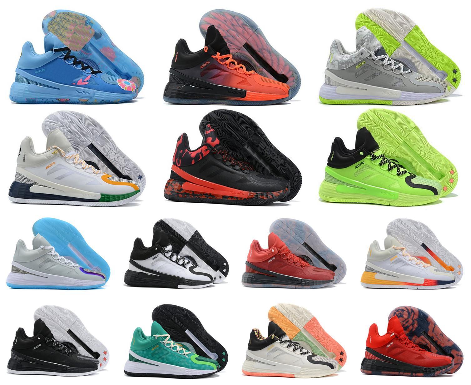 2021 Nouveau D Derrick Rose 11 11S XI MVP 11ème Hommes Basketball Chaussures Hommes Top Qualité Chaussures Sports Sneakers Chaussures Taille 40-46