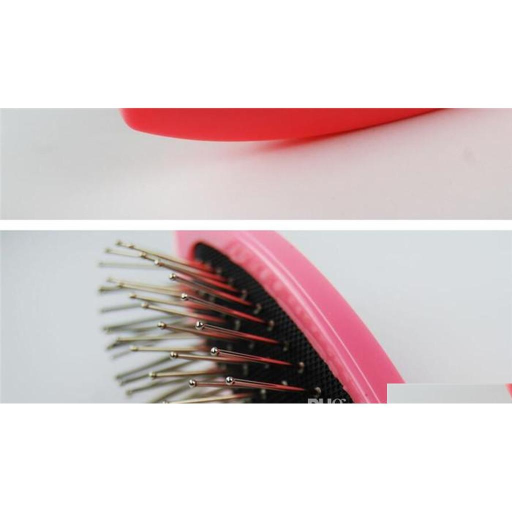 330pcs brosse de peigne d'acier anti-statique professionnel pour perruque extensions de cheveux d'entraînement Head HeadDressing Salon Outils Qyljsh Hotclipper