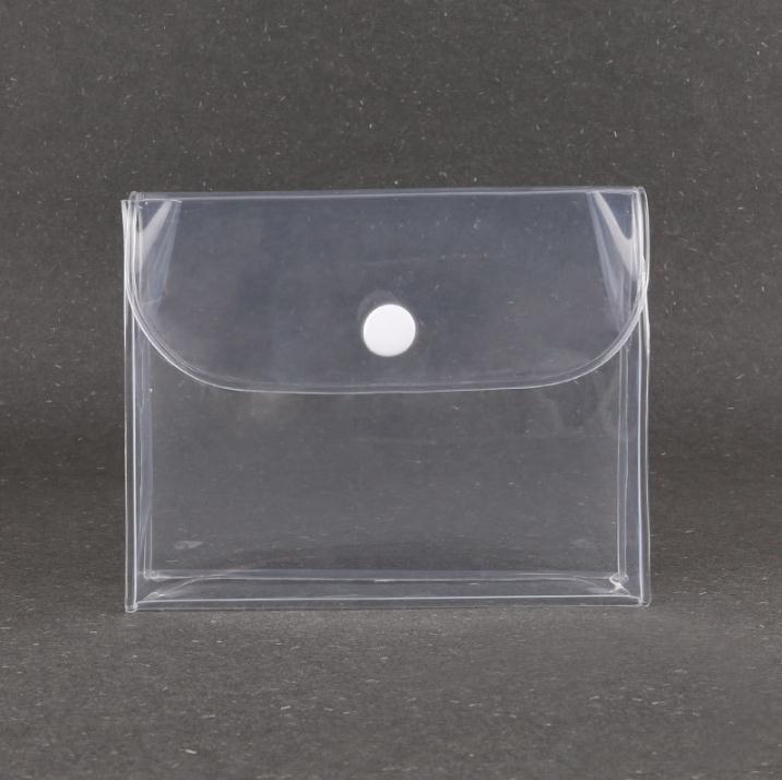 أكياس تخزين مستحضرات التجميل شفافة الحقيبة زر واضح ماكياج ماء حقيبة SN4804 المنظم المرأة السفر Runtd