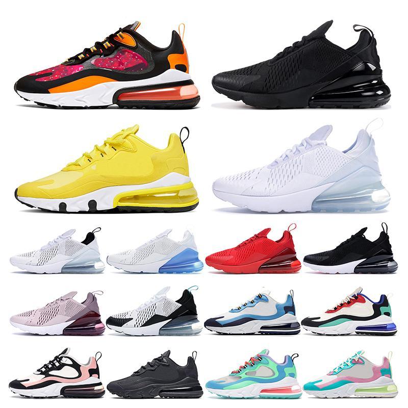 nike air max 270 White Volt dreifach weiß schwarz Dot Punch Teal Damen Sneaker Herren Turnschuhe Sportschuh Größe eur 36-45