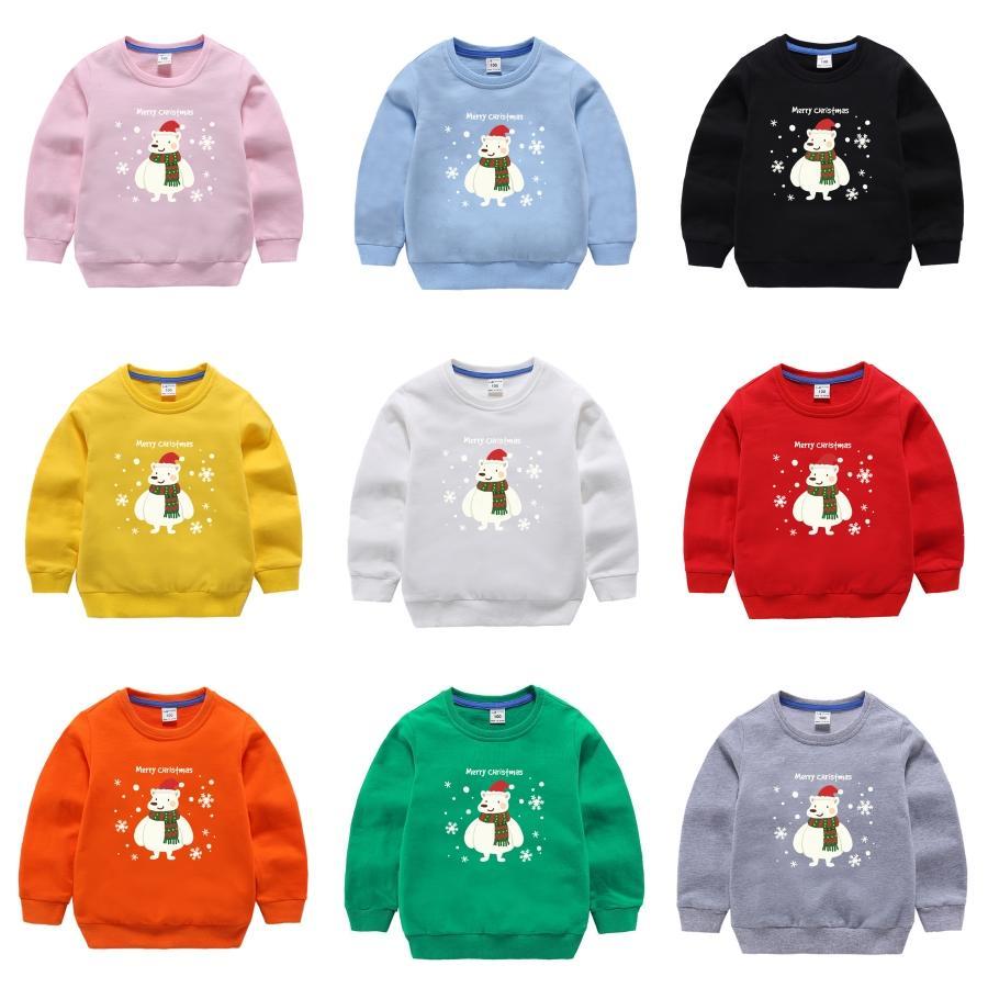 All'ingrosso-2020 lana vergine bello Bambino Maglione Autunno Inverno O-collo spesso Kintwear Pullover Natale Childs Maglioni alta qualità # 922