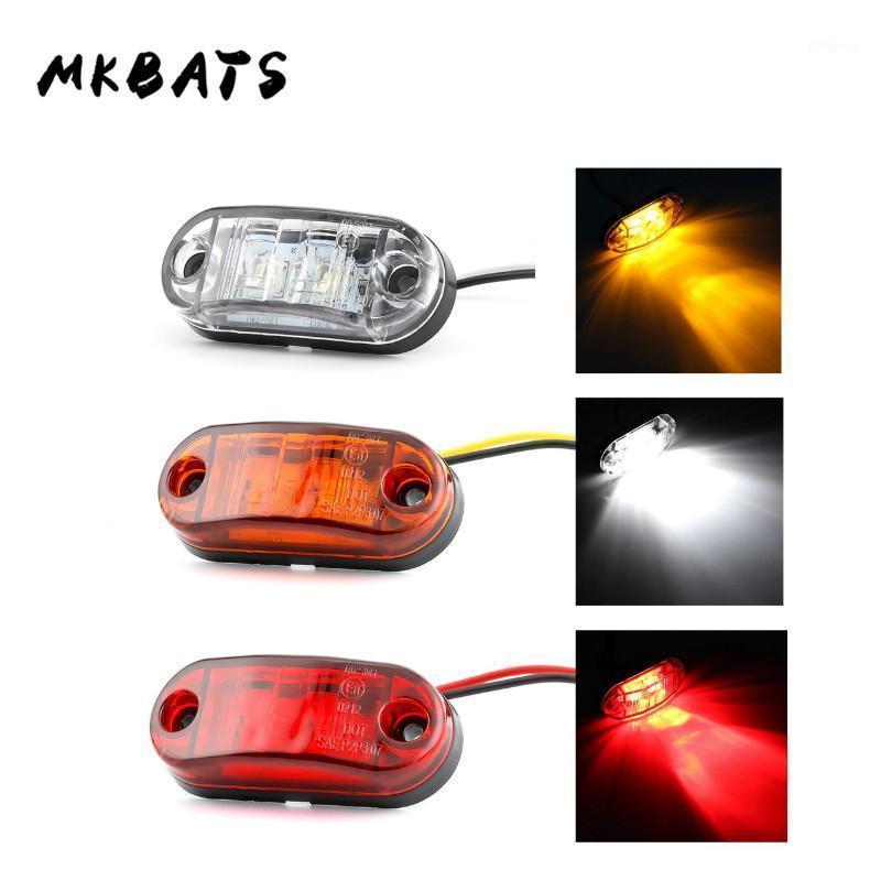 Feux d'urgence 12V 24V LED LED Marqueur latéral Light Avertissement externe Trailer Signal1