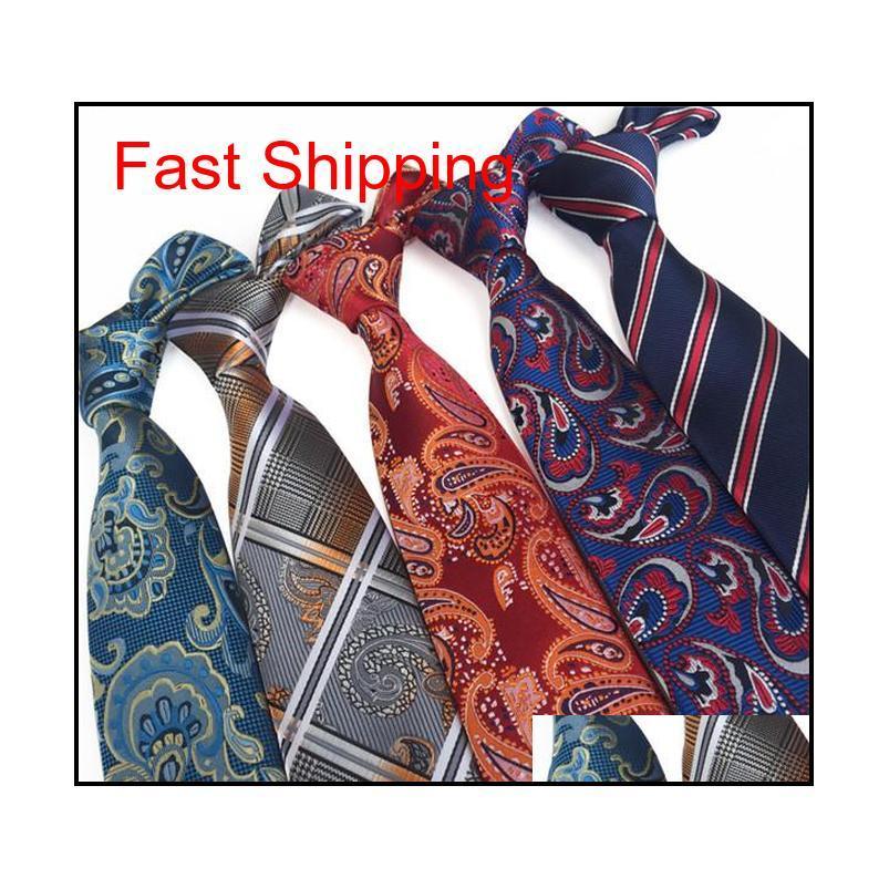 Jakarlı Çiçek Çizgili İş Takım Elbise Kravatlar Boyun Kravatlar Erkekler için Erkek Kravatlar Bir Qylluu Homes2007