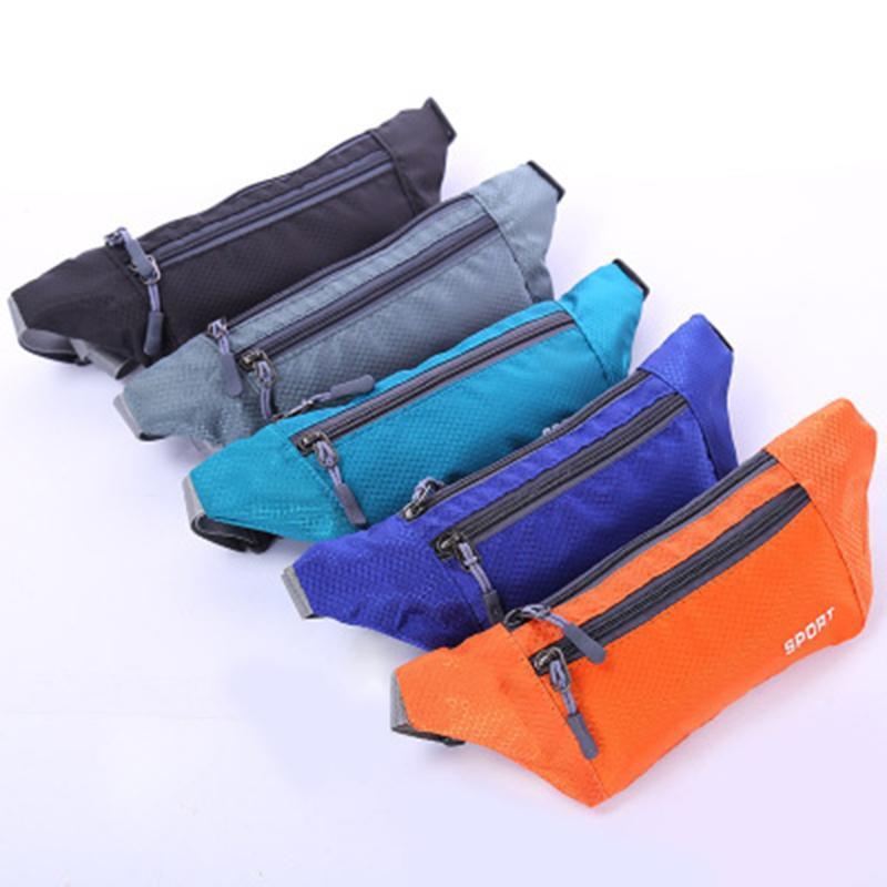 Bolsa Pacotes de Hip Wallet Cintura Dinheiro Desporto Pacote de Viagem Zip Bolsa Cintura Cinto útil Novo Shcdr