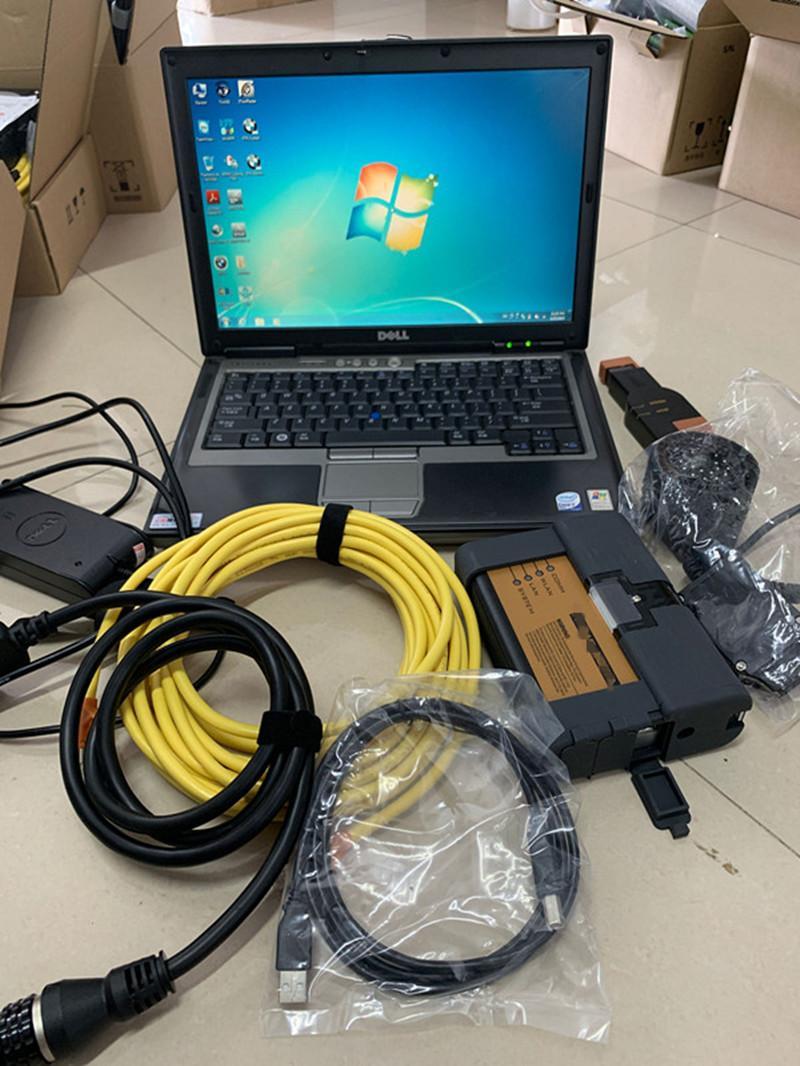 2021 BMW ICOM A2 B C Programme Tool de diagnostic PLUS D630 Laptop HDD 500 Go Ensemble complet à vendre Prêt à l'emploi
