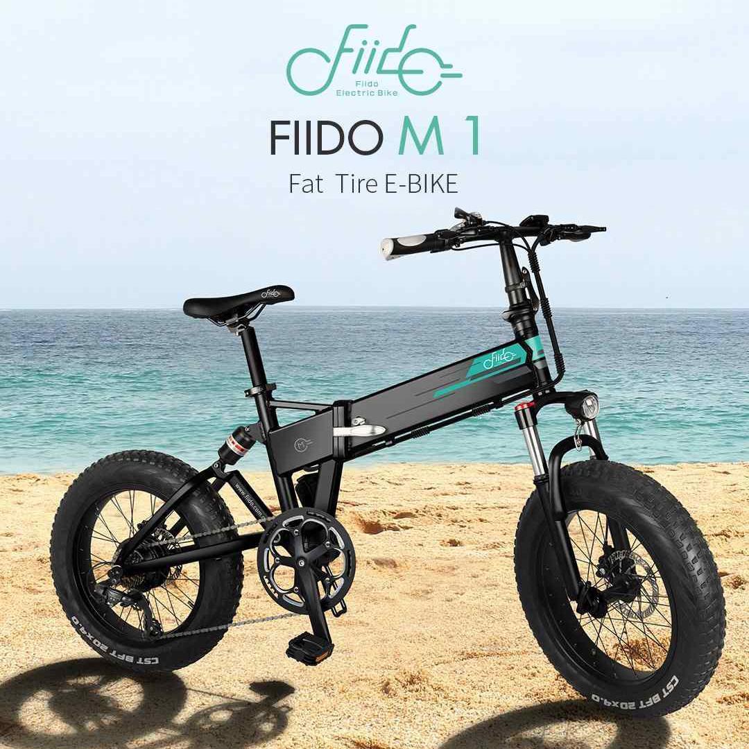 [Фото EU] FIIDO M1 D4S 36V 250W 12.5Ah 20 дюймов Складной мопед Электрический велосипед 24км / ч 80KM Пробег Электрический велосипед E-велосипед