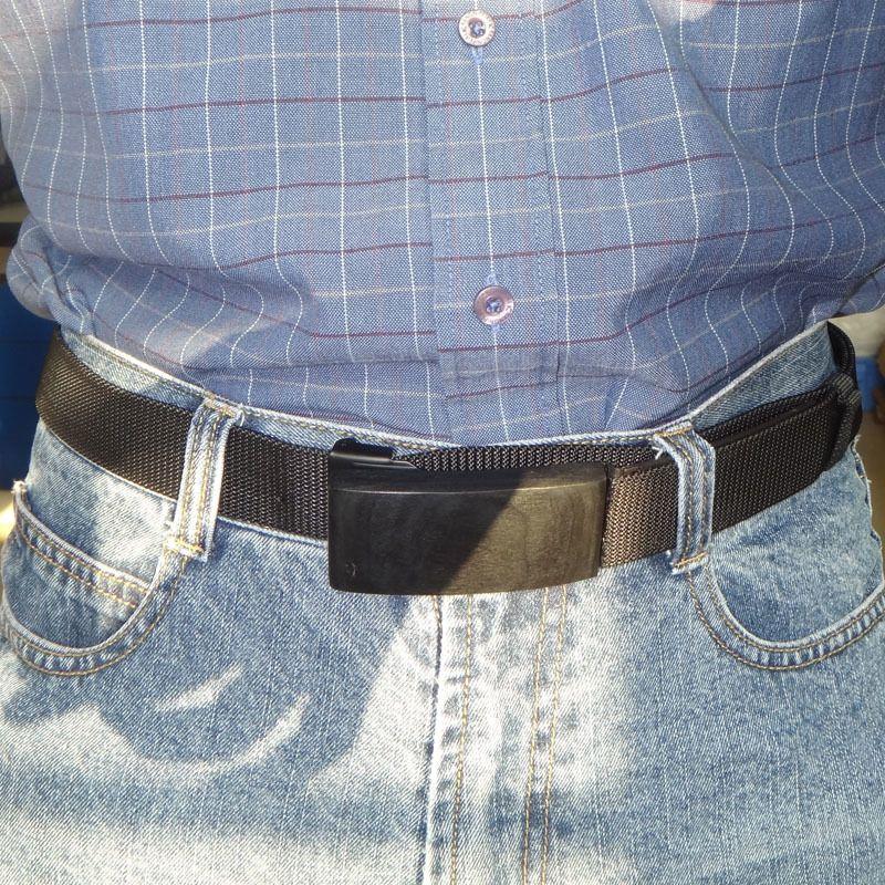 115cm ajustável comprimento cinta faca cinto masculino tático militar militar homens homens ao ar livre nylon hiden jeans cutelaria cinto cinturon j1223