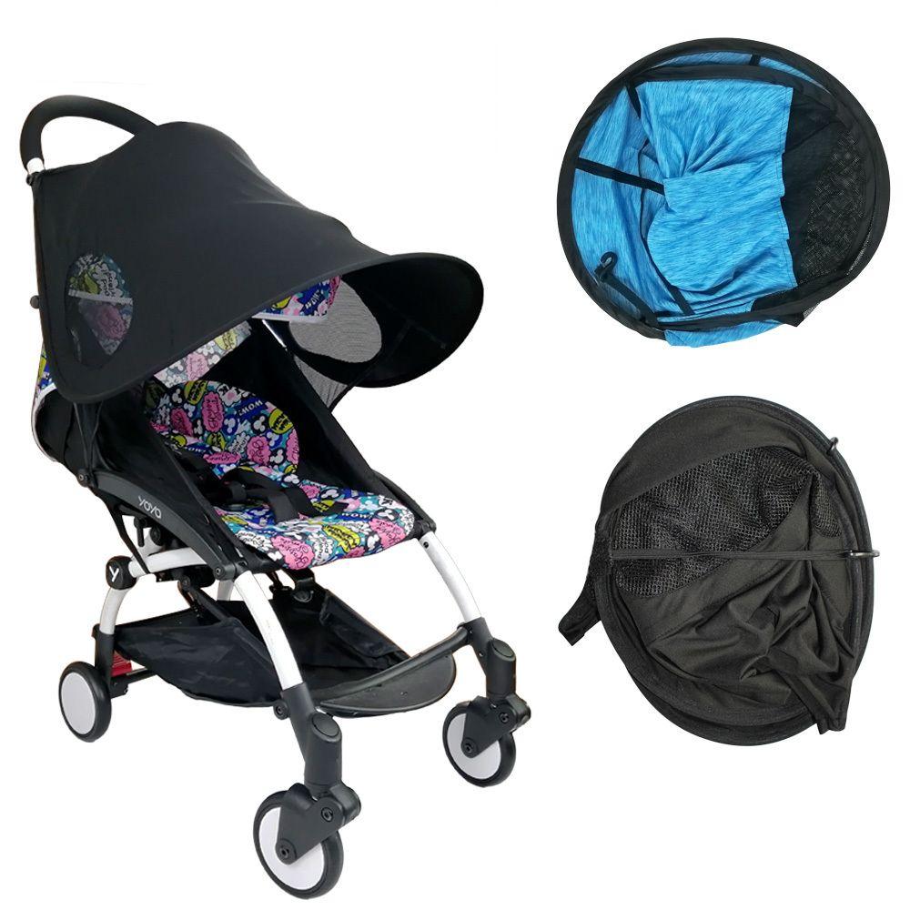 Детские коляски Аксессуары Ultraviolet-Proof Солнцезащитный козырек ВС-затенения Обложка для Babyzen YOYO + Yoya и высокий Пейзажная коляски