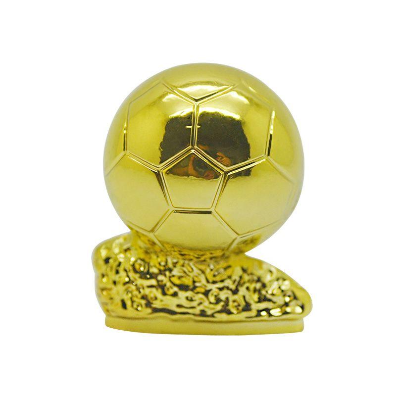 الكرة الذهبية الكرة الذهبية نموذج 3 سنتيمتر ارتفاع معدن كأس المعجبين الهدايا التذكارية المقتنيات هدية كرة القدم كرة القدم البطل