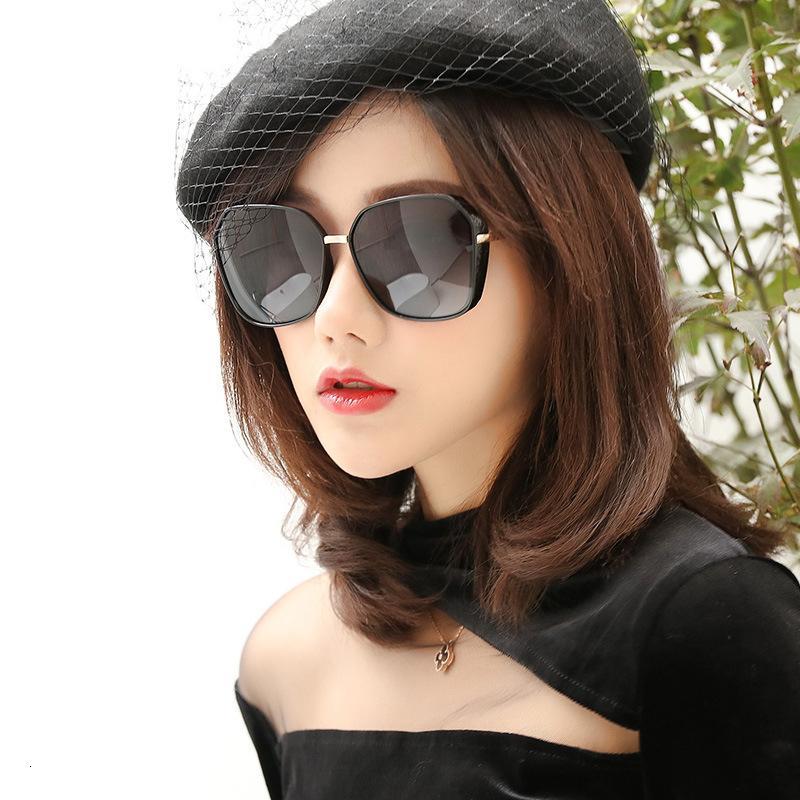Sonnenbrille Tac Weibliche Übergroße Sonne Fahren UV400 Gläser TR90-Rahmen Polarisierte Linse Sonnenbrille-Frauen Marke Designer für Frauen Wrskr
