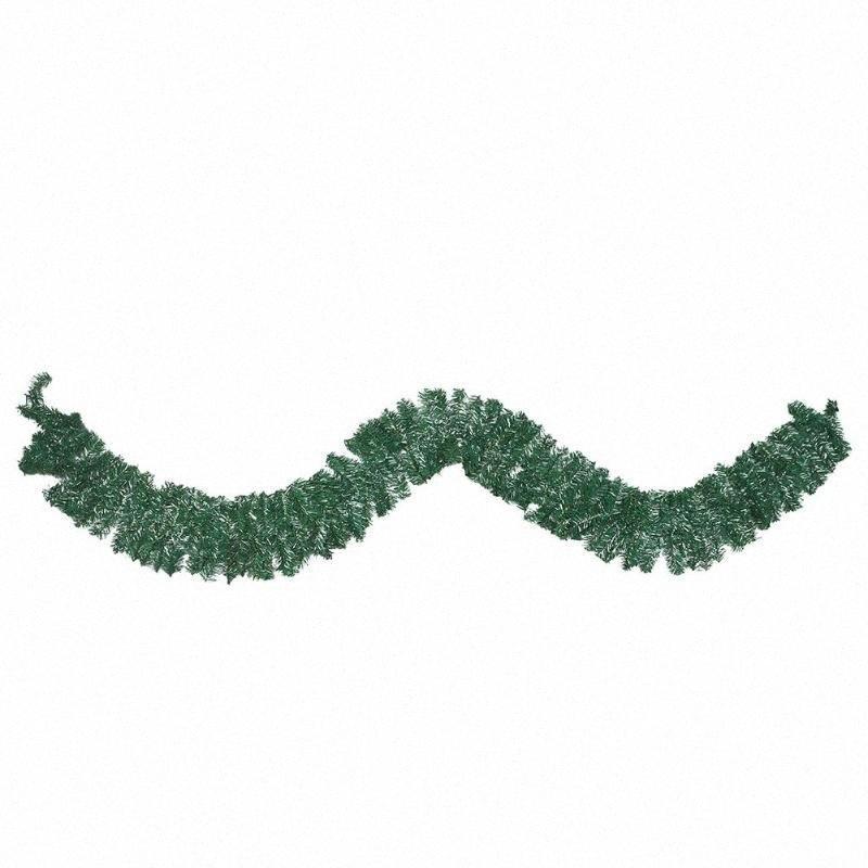الاصطناعية الأخضر القش غارلاند شجرة عيد الميلاد الشنق الديكور حزب ندفة الثلج زينة ثلج عيد الميلاد الديكور ipTz #