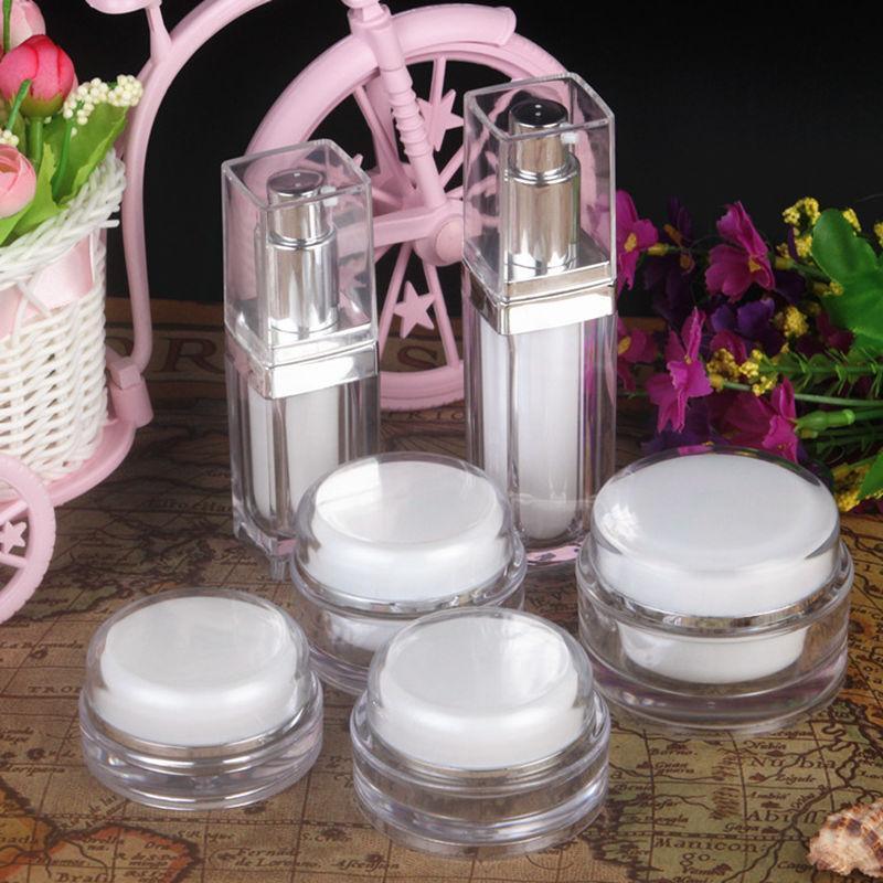 15/20/30 / 50g Visage de voyage Lotion crème Cosmétique Conteneur Creamer Emballage Cosmetic Boîte de maquillage Vide Maquillage Jar Pot Nouveau