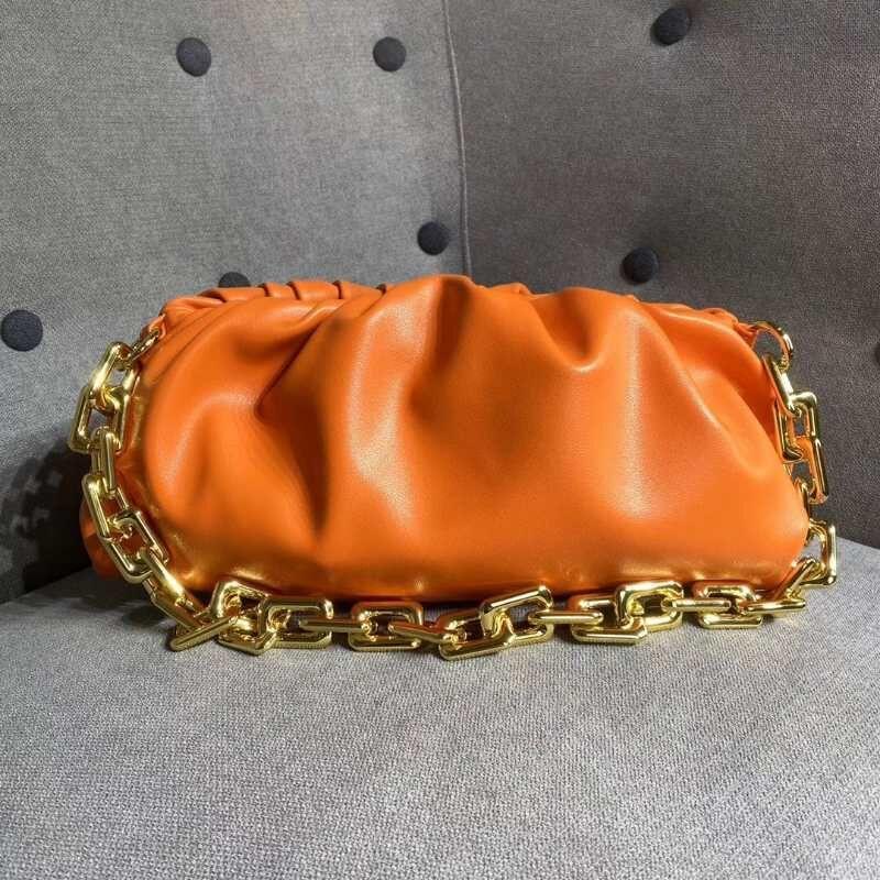 Bolsas para Couro Mulher Bolsas Sacos Saco Saco Sela Mulheres Luxurys Handbags Trend Hasp Womens Bolsa Bolsa de Ombro Corrente de fim de semana LFDS