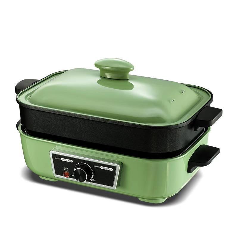 5 em 1 multi-função pote casa cozinhar pote churrasco elétrico churrasqueira fogão quente