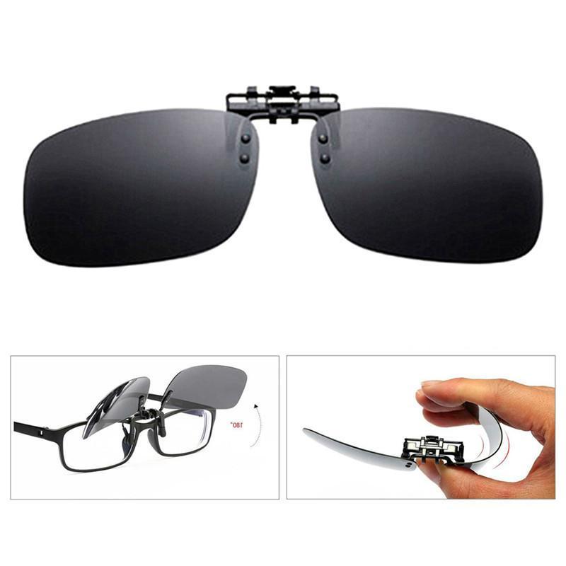 2021 ultimo UV per Flip Up Glare occhiali da sole anti Miope giallo Nuova Clip On Eye Glasses di visione notturna polarizzata lente Nuovo