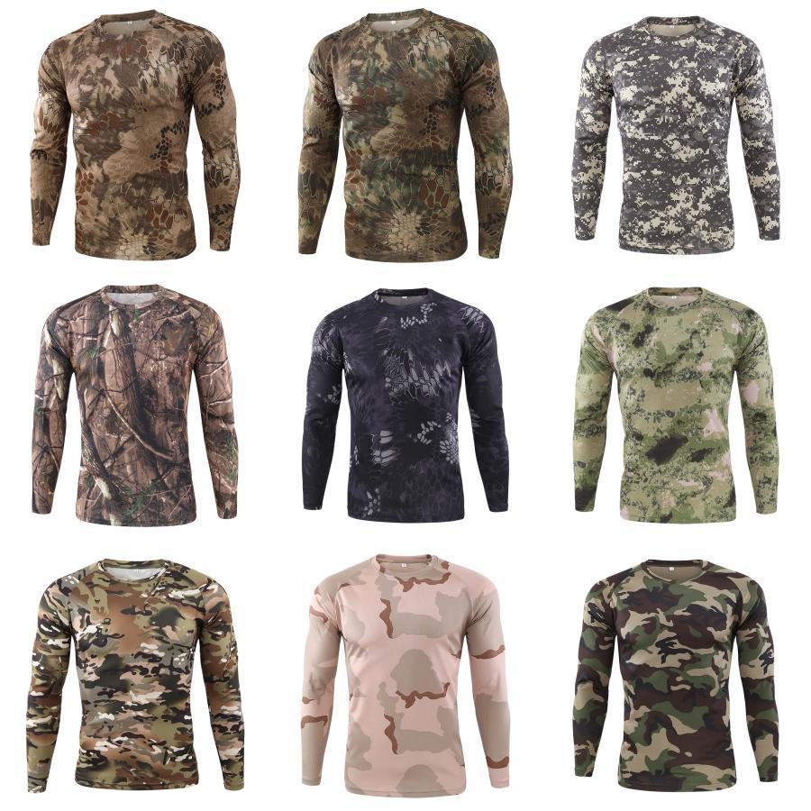 Yeni Erkekler Sling Tişörtlü Moda Uzun Kollu Tişörtler Erkek İnce Erkek Erkek Tasarımcı Casual Renk T-Shirt # 289 Tops