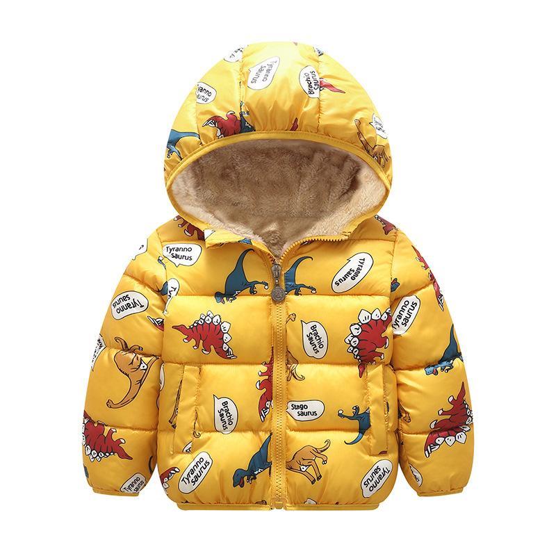 Baby Girls Veste 2020 Automne Hiver Veste pour filles Coating Enfants Capuche à capuchon chaud pour garçons Veste manteau Vêtements enfants
