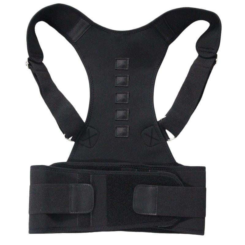 Безтехническая терапия поза корректор на плечо задняя поддержка ремня для мужчин женщин