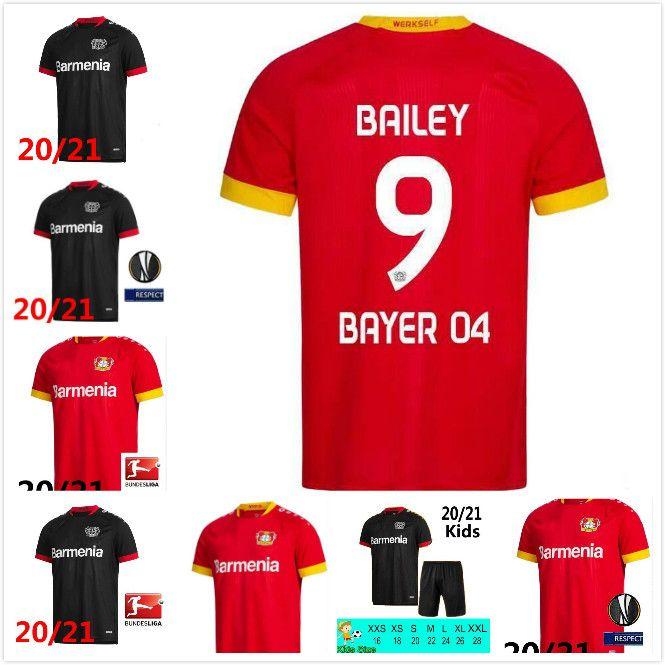 2019 2020 04 Bayer Leverkusen Futbol 29 Kai Havertz Jersey 13 Lucas Alario 8 Lars Bender 19 Moussa Diaby Bellarabi Futbol Gömlek