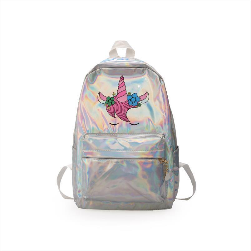 Mochila mochila infantil saco laser criança para saco escola holográfica crianças escola plecak szkolny lxfzq meninas sacos mochilas hjahr