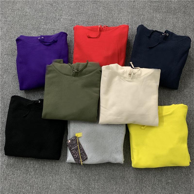 أعلى جودة أزياء العلامة التجارية الصليب هوديي الهيب هوب الشارع الشهير إلكتروني التطريز الكلاسيكية ماركا 8 ألوان الصوف البلز