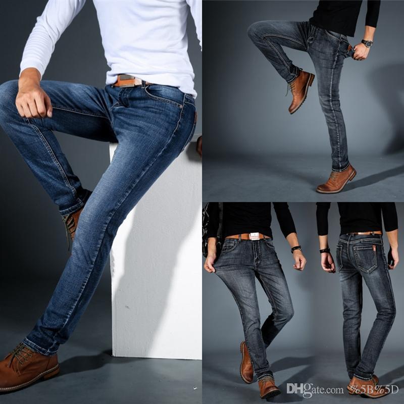 IXF Girls Garçons Demin Menina Poser un jean élastique Blue Enfants enfants Chats Broek pour Jeans High Outdoor Quality Noir