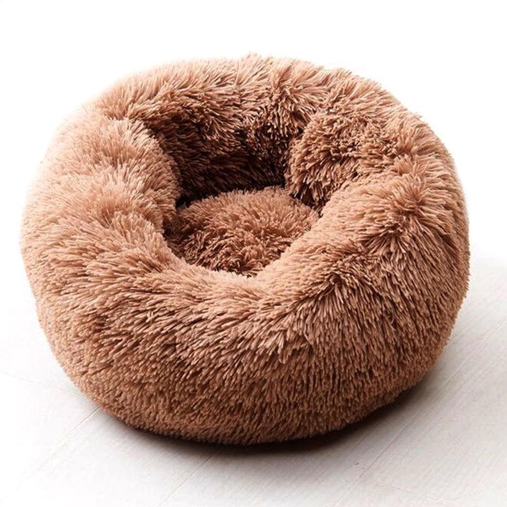 Willstar Собачья кровать зимние теплые длинные плюшевые спальные кровати Созрительный цвет мягкие домашние собаки кота коврик Cat Cuushion Dropshipping LJ200918