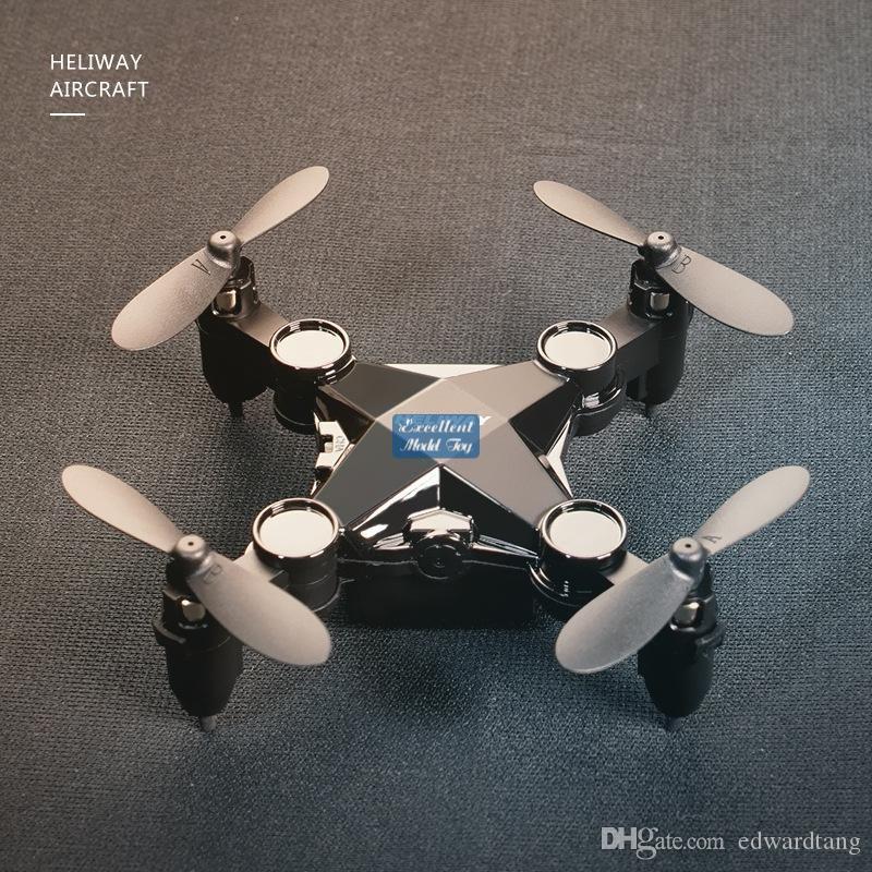 EMT MNI4 HD-Kamera FPV Mini-Drohne, Junge Spielzeug, Simulatoren, Fernbedienung Flugzeuge, Höhe Hold, 2-Gänge-Geschwindigkeit, Flugbahnflug Quadcopter, Weihnachtskind-Geschenk, 3-2