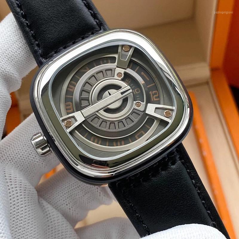 Saatı Erkekler Saatler PAM 616L Stainess Çelik 47mm * 15mm Otomatik Hareketi Adam Özel Sürüm Saatı için111