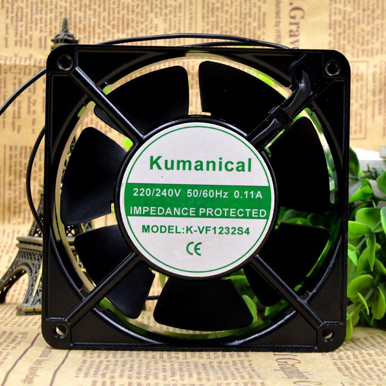 Kumanical K-VF1232S4 220V 0.11A 10W 12038 120 * 120 * 38mm의 팬