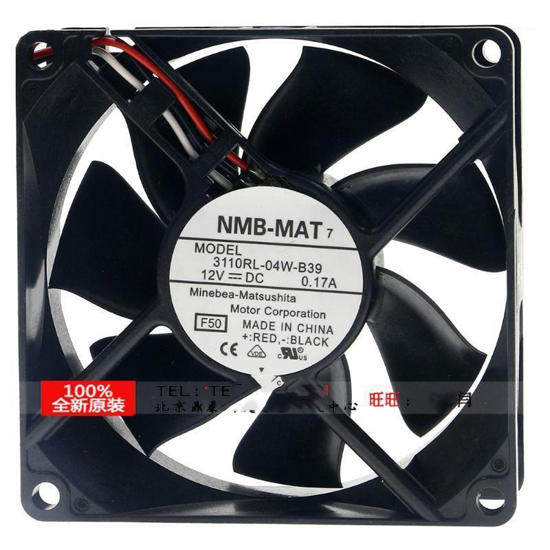 Para NMB 3110RL-04W-B39 8025 8cm 80x80x25mm 12V 0.17A Proyector Silent Silent Fan1