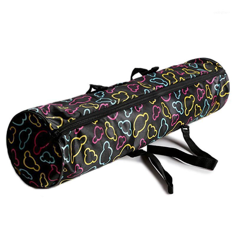 Йога Маты 68 * 16 см Коврикская сумка Водонепроницаемый перевозки Пакет молнии хранение с телефонным карманом регулируемый ремешок фитнес Accesorios1