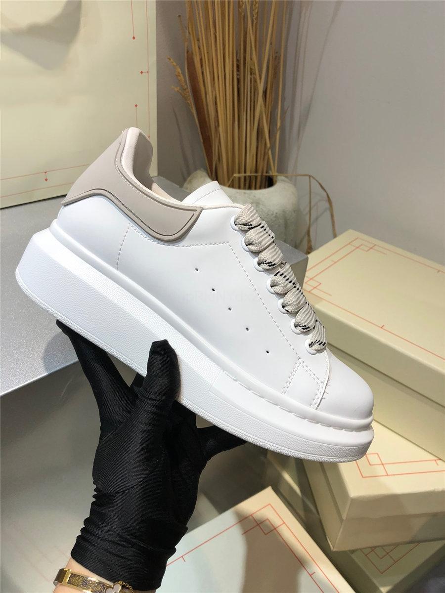 2020 Новый дизайнер BLA Повседневная Обувь Новые ОИС Ангел Кроссовки Подлинные Кожаные Тренеры Обувь с Обувь Коробка DAD Соответствующие Цвет Обувь L01 # 267666666