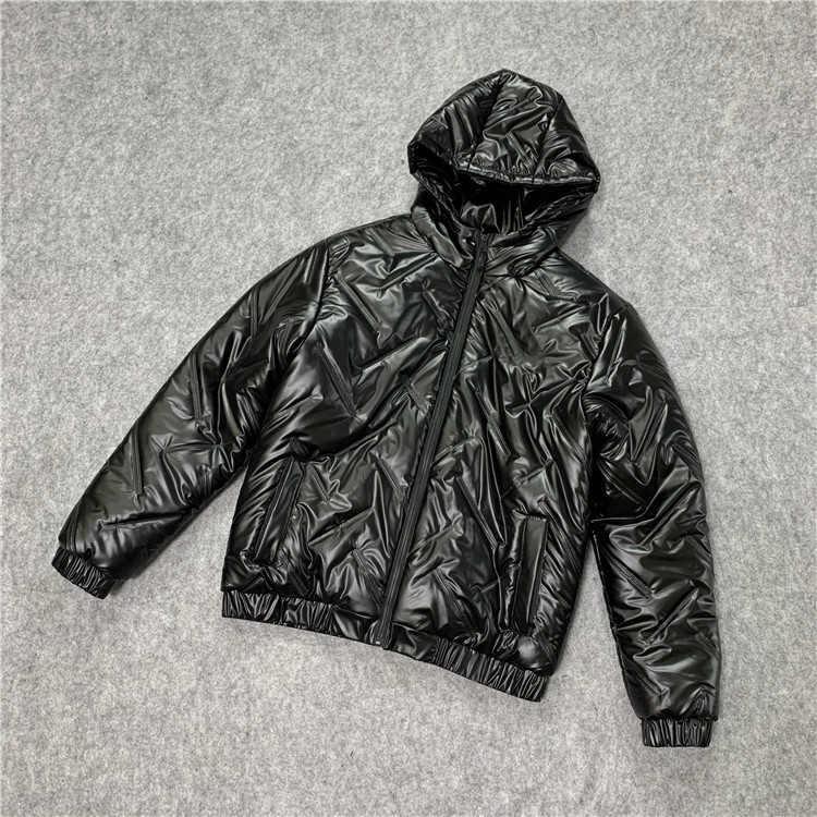 Mode Männer Frauen Parkas Jacken-Winter-Fest Farbe Daunenmantel 20FW neue Mens Street Jacken mit Brief gedruckt Kleidung 2 Farben