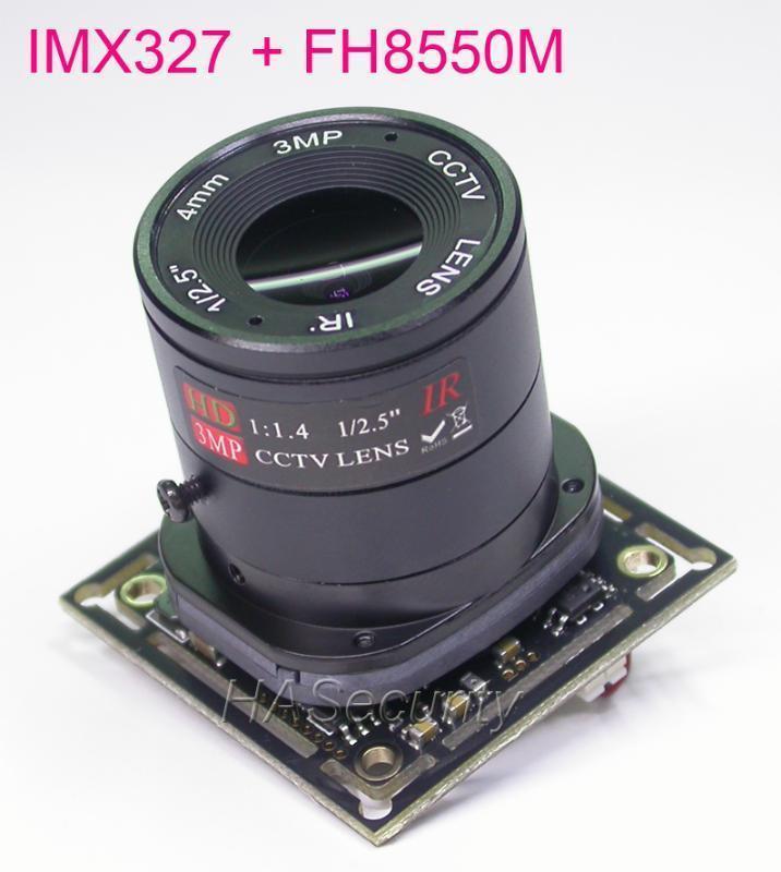 "AHD-H (1080p) / CVBS 1 / 2.8 ""Sony Starvis IMX327 CMOS Sensor + FH8550 CCTV-Kamera PCB-Plattenmodul + OSD-Kabel + CS-Objektiv + IRC (UTC1"