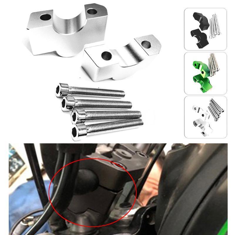 28mm Motorcycles CNC Alumnium Accessories Handle Bar Riser Mount Clamps For Vulcan S 650 VN650 EN650 ABS 2020-2020