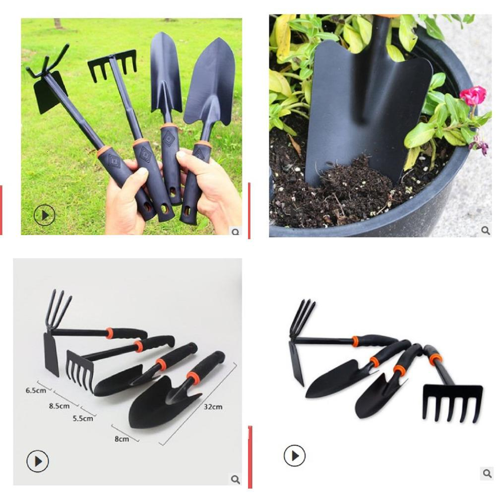 2020 hot sale cheap 4 set Planting Tools family suits vegetables flowers Garden shovel digging