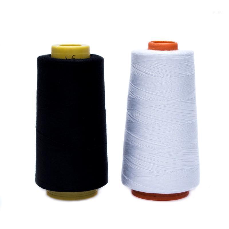 Durable 3000m yardas Overlocking Máquina de coser Máquina de rosca de poliéster industrial Conos 1