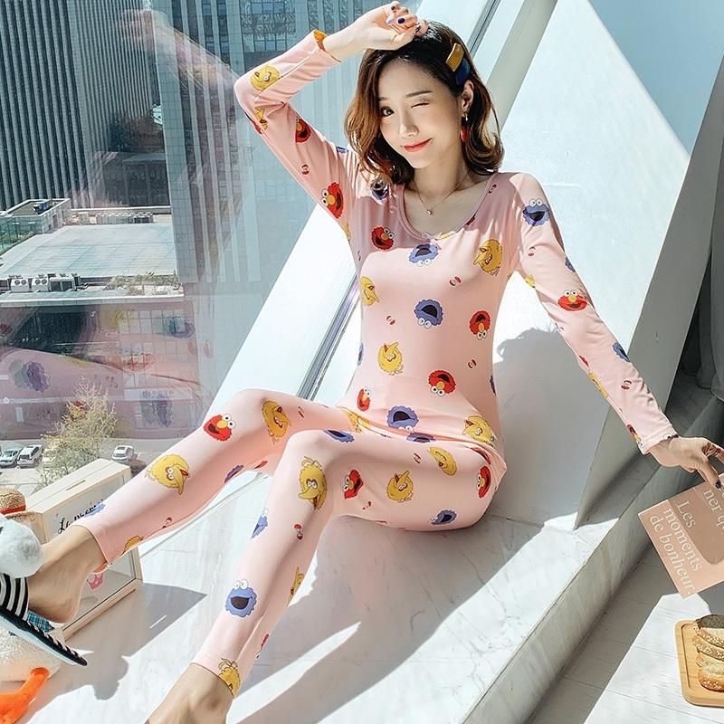 Yidanna Pigiama Set per le donne con scollo a V in pizzo sexy cucito lingerie Sleepwear Sleepwear caldo Homewear femmina Nightie Pijamas Suit Suit da donna collant Y200425