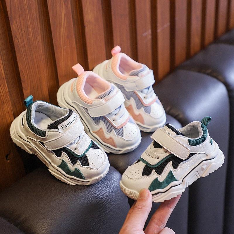 Детская обувь 1-3 года старых весенних и осенних мягких нижних малышей обувь Младенческая спортивность 0-2 года детей вскользь 6qak #