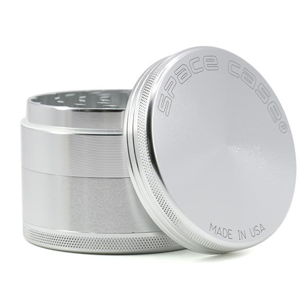 Space Case 2/4 Layers Aluminum Herb Grinders 63/55mm Space Case Grinders Herb Grinder Shaped Metal Grinders Tobacco Grinder Free DHL