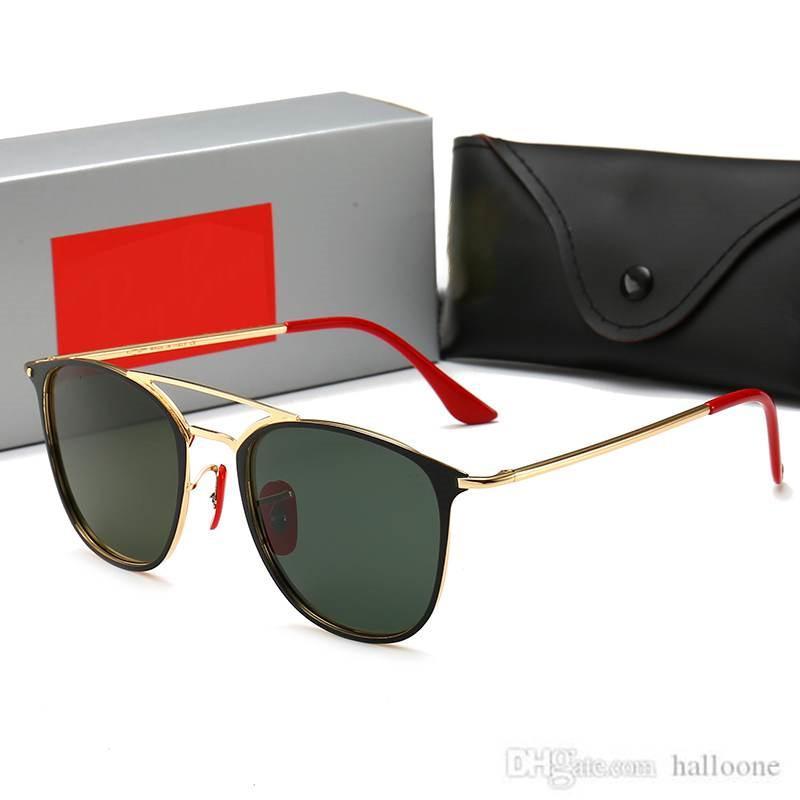 3602 Luxurys designer marca moda homens piloto óculos de sol UV400 esporte ao ar livre mulheres vintage óculos de sol óculos lente de vidro com caixa e caixas