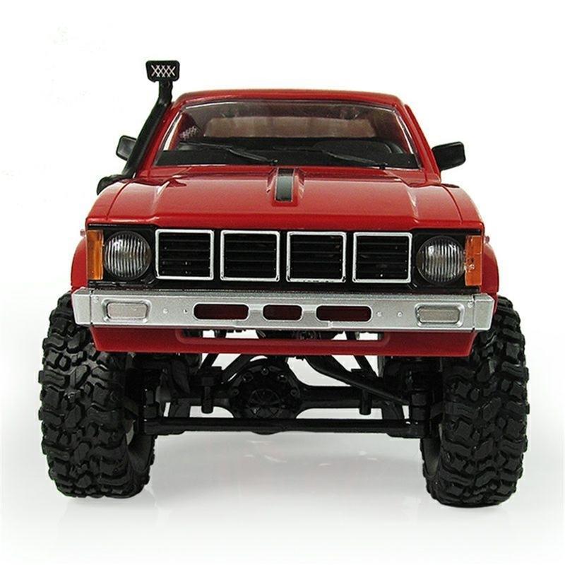 WPL C24 Пульт дистанционного управления Off-Road Model Car RC AUTO DIY Высокоскоростной грузовик RTR для мальчиков Подарки Игрушка Обновление 4WD Metal Kit Part Crawler 201218