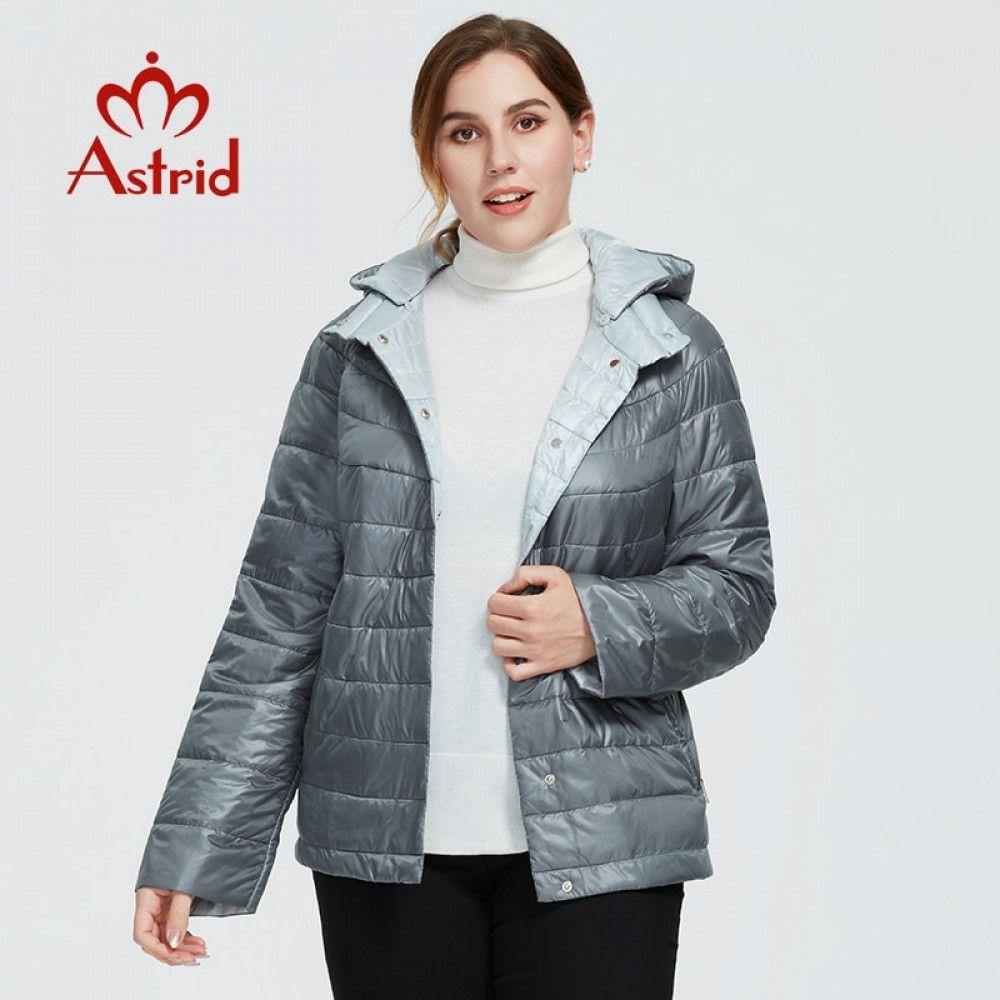 Astrid New Autumn Winter Women's coat women Windproof warm parka fashion thin Jacket hood large sizes female clothing 9439 201015