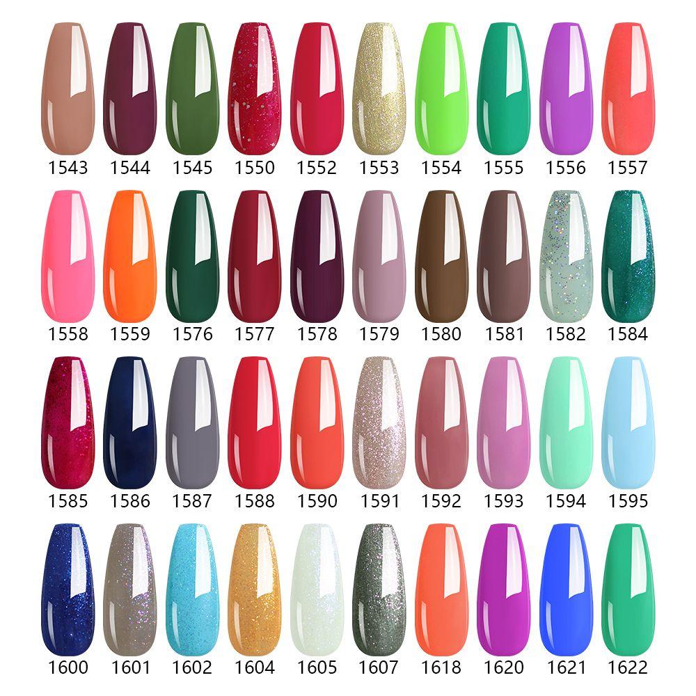 Arte Clavo 15ml 455Color Gel Varnish Soak Off UV Gel Nail Polish Gel Polish Gellack Hybrid LED Semi Permanent Nails Art Manicure